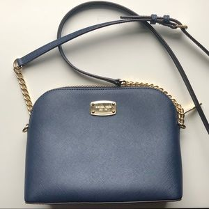 Cindy Large Saffiano Leather Crossbody